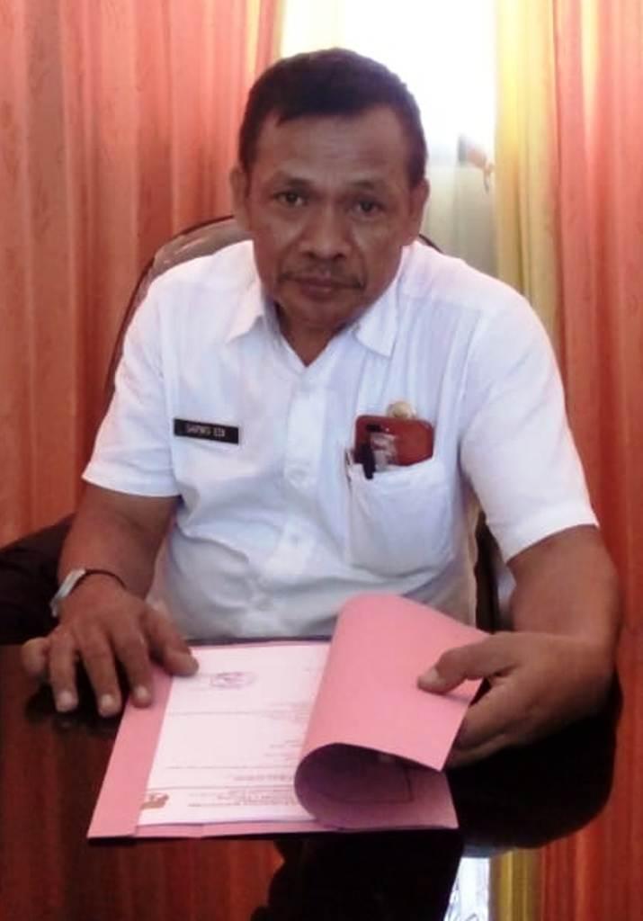 Kepala Sekolah SMPN 1 Trucuk, Kabupaten Bojonegoro, Drs Sarwo Edi.